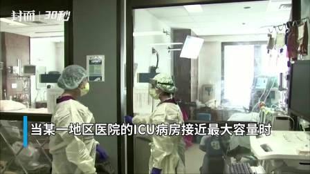 30秒|加州州长颁布新冠新政: ICU病房不足时将触发隔离令