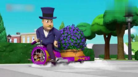 汪汪队:市长偷挖野花,还好意思拿出去炫耀,他脸皮咋这么厚呢