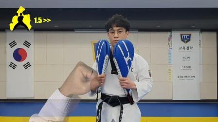 跆拳道虚拟训练模式视频,有点创意!