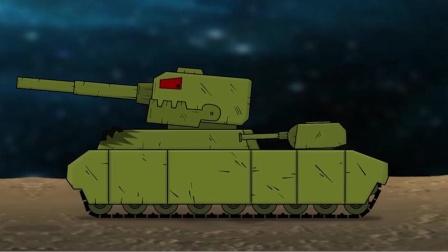 坦克世界动画:kv44的攻击