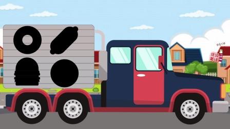 双语剪影认识食品卡车上的美食