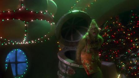 虽然派对被鬼精灵破坏,但依旧抵挡不了,村民们对圣诞节的热爱
