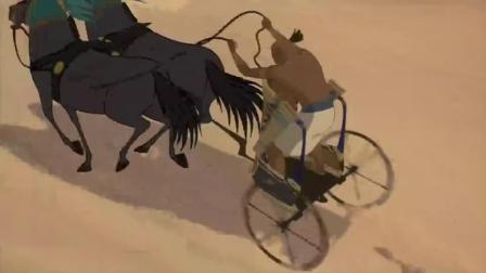 埃及王子:两位王子赛马,到处破坏公物,真是太没素质了