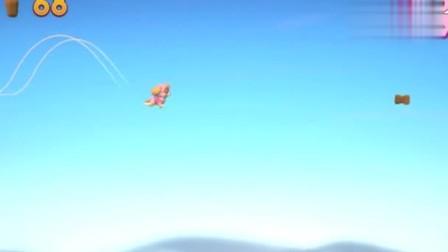 游戏汪汪队出发救援天天遇到很多飞行的大雁,别被大雁抓住了