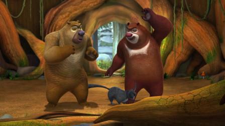 熊出没:肥波被赶出来,大冬天的差点被冻死,还是狗熊收留了它