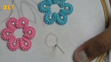 新手刺绣入门教程,步骤详细,学习起来很简单!