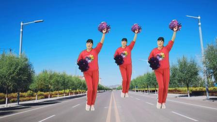 正能量广场舞《我是中国人》我骄傲我自豪,特别精神