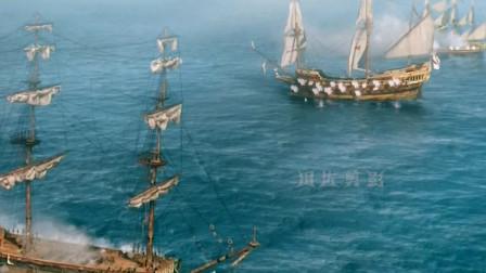 黑帆:海贼团VS海军军舰,结局太真实了!