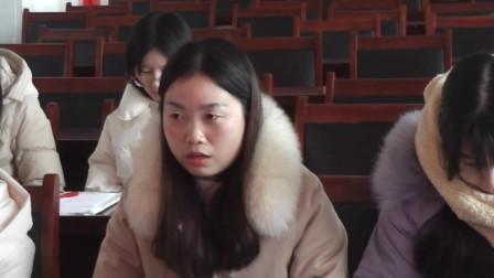 南坞镇一中七年级召开期中考试总结座谈会(19)