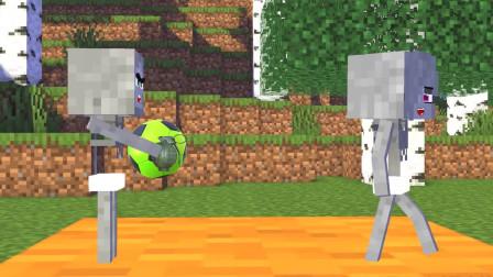 我的世界动画-怪物学院-淘气宝宝-MineCZ
