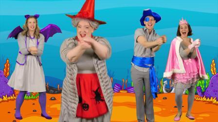 好莱坞版《鲨鱼宝宝》幼儿园小班舞蹈推荐 高清宝宝英语儿歌
