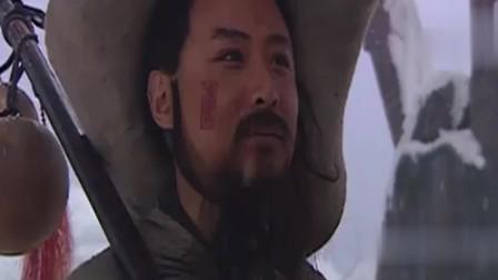 水浒传:林冲风雪山神庙,唢呐一响,是整剧的重点之笔