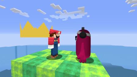 我的世界动画-木偶人 vs 糖豆人-Mobi VS Games
