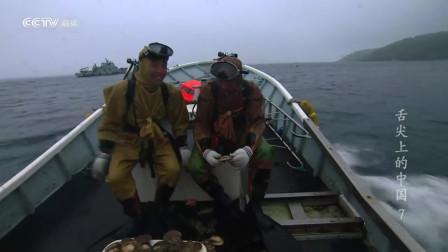 舌尖上的中国:潜水者任务繁重,有时连续6小时潜水采捕海中食物