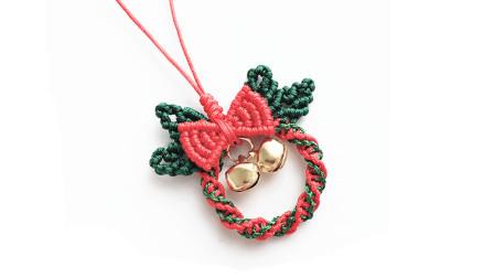 A1309圣诞花环挂件DIY-花环部分