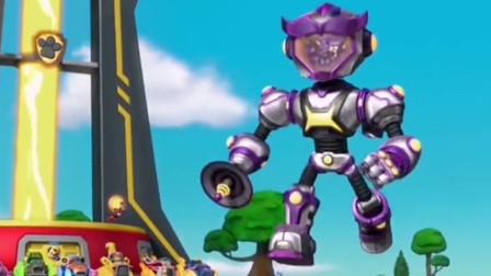 机器人很快要被汪汪队抓住了!