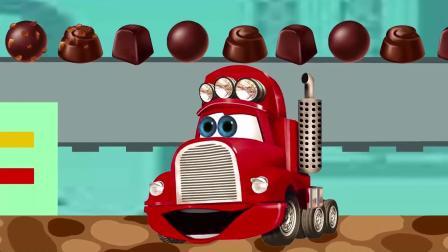 汽车总动员,小麦昆包装在生日蛋糕里,给小宝宝准备生日惊喜