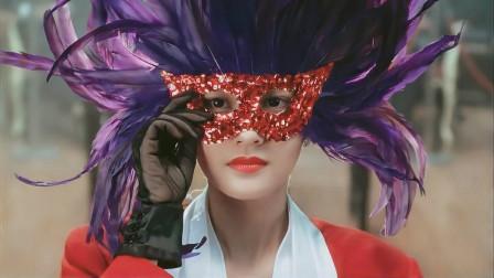 李嘉欣戴面具参加赌王大赛,结果摘掉面具那一刻,瞬间亮瞎全场!