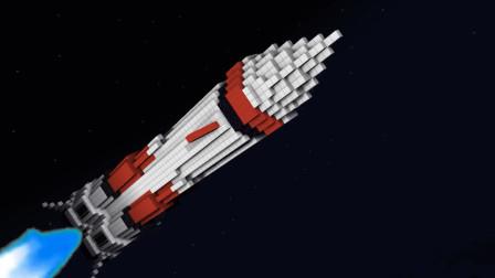 我的世界动画-火箭发射-Mine Animation