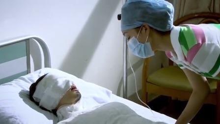 锁定目标:严绣瑾医院里录口供,脸上全裹着纱布只有嘴巴能动