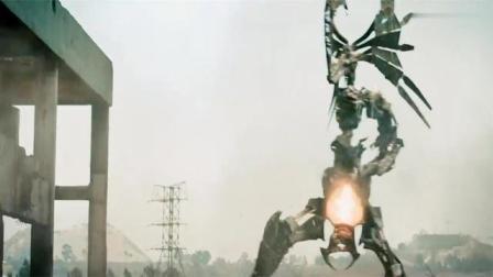 铁甲战神众人想抓机器人,可怜完全低估了机器人的战斗力