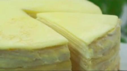 甜品烘焙:榴莲千层原来这么简单,超多榴莲的榴莲千层