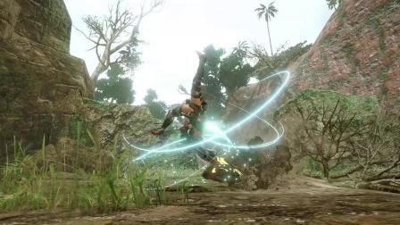 【游民星空】《怪物猎人:崛起》斩斧演示
