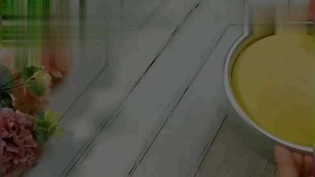 1杯酸奶3个鸡蛋,教你做好吃的酸奶蛋糕,口感太像轻乳酪蛋糕了