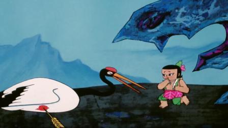 葫芦小金刚:丹顶鹤受伤,绿娃子太难受,不想让他掉