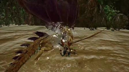 【游民星空】《怪物猎人:崛起》人鱼龙演示