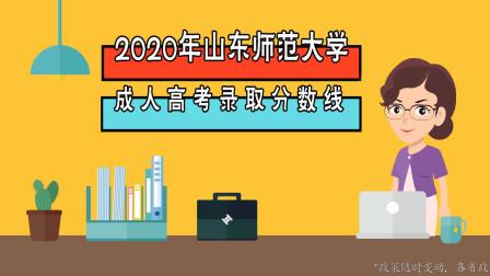2020年山东师范大学成人高考录取分数线