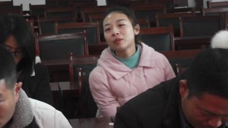 南坞镇一中八年级召开期中考试总结座谈会(10)