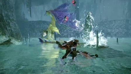 【游民星空】《怪物猎人:崛起》食人鱼陷阱演示