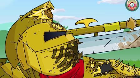坦克大战:大兵坦克主动出击