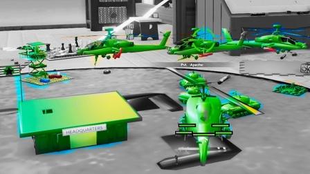 大海解说兵棋战争 开着坦克直升机打敌人