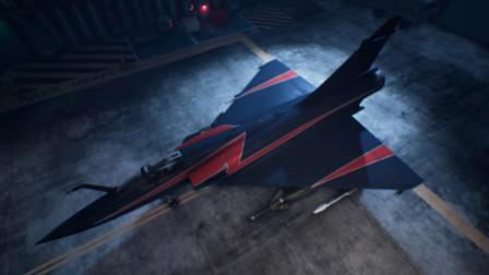 法国大片《空中决战》中的精彩镜头,幻影2000战机在空中战斗