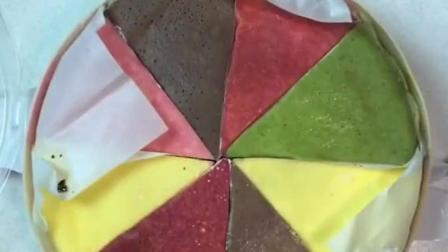 网红八拼千层蛋糕