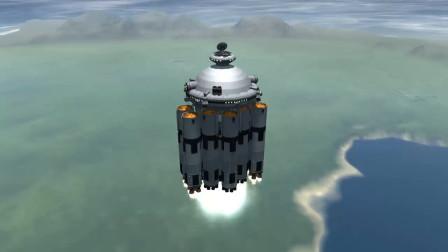 看!我们利用软件,可以仿真模拟出未来的空间站!