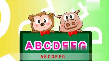 嘟拉儿歌:学会英文字母