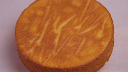家里有橘子的,一定要试试这种水果蛋糕,不用打发,做法超简单