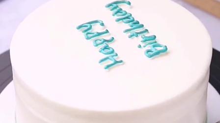 ins简约款生日蛋糕
