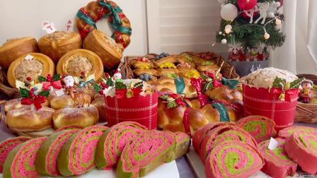最近都在出圣诞蛋糕、圣诞甜品