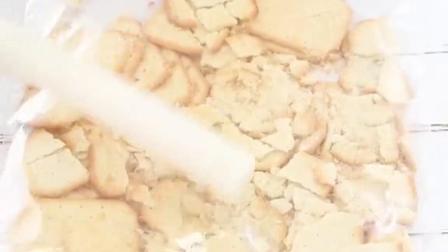 用紫薯做的慕斯,口感像冰淇淋紫薯美食
