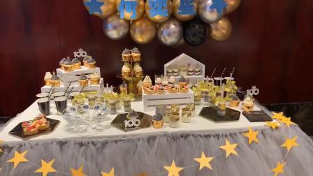 宝宝百日宴的蛋糕