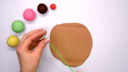 儿童益智:手工diy之制作彩色樱桃冰淇淋