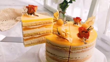 学习首尔风切块蛋糕