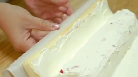 慢放超详细卷蛋糕卷方法