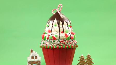 """""""糖果瀑布""""圣诞蛋糕你吃过吗?孩子的最爱"""