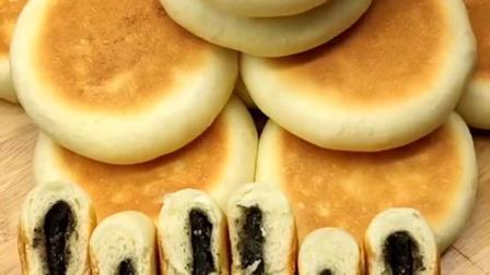 无蔗糖黑芝麻蛋奶饼,!适合三人食用!