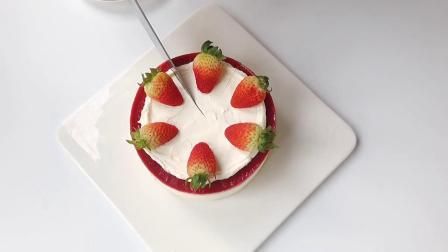 韩风切块蛋糕绵软蛋糕胚